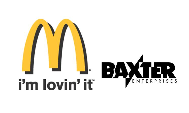 Baxter with McDonalds